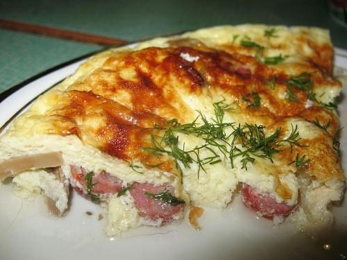 Картофельная запеканка с колбасой в духовке рецепт